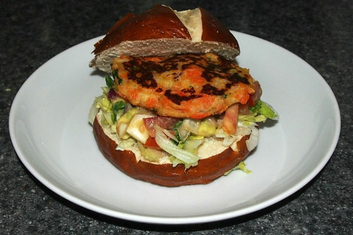 Veggie Burger – Home Made Vegetable Patty