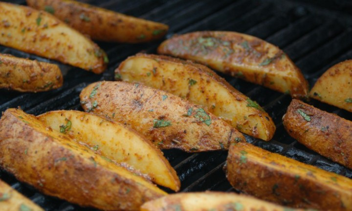 GRILLED POTATOES IN 5 MINUTES | FAST AND EASY